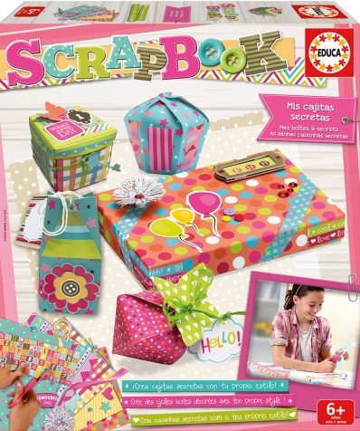 EDUCA - Mis cajitas secretas Scrapbook